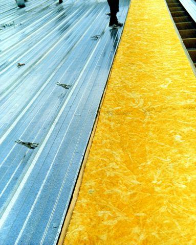 45 charola tipo kr 18 con aislante de fibra de vidrio - Aislante de calor para techos ...